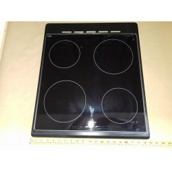 Ceramic top 50cm with black...