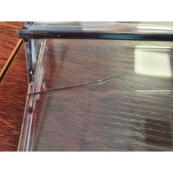 Damaged Freezer Drawer Front