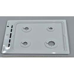 Cooktop in white