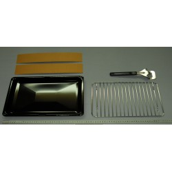 GRILL PAN SET WITH HANDLE...